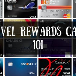 travel rewards card
